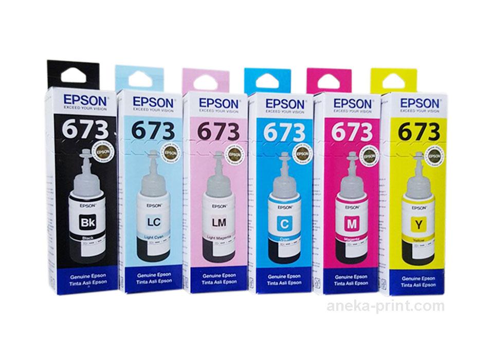 Tinta Epson 1 Set L800/L850/L1800 Original